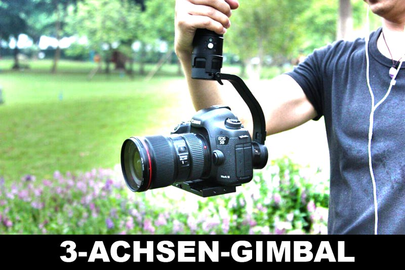 3 achsen gimbal f r dslr kaufen beste kaufen. Black Bedroom Furniture Sets. Home Design Ideas