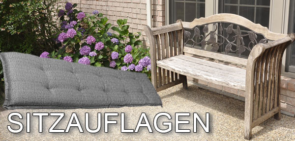 sitzauflagen f r gartenm bel b nke und auto beste. Black Bedroom Furniture Sets. Home Design Ideas