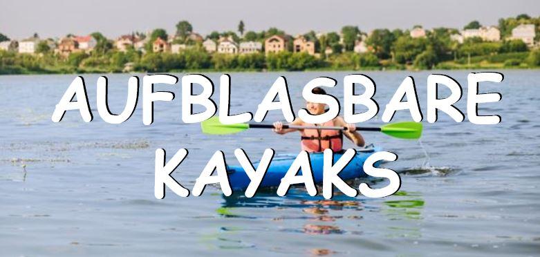 Aufblasbares Kayak