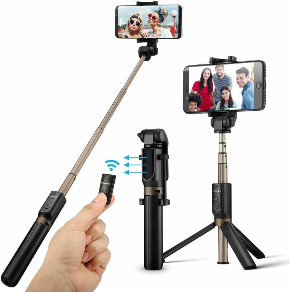 Selfie Stick mit Stativ von Blitzwolf