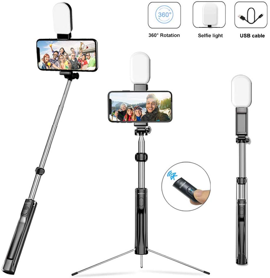 Selfie Stick Test Stativ Brokuca